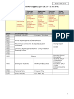7th ISYF 2015 Tentative Programme 9 Jan