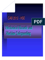 Microsoft PowerPoint - Mechanical Hazards Jan07