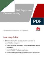 OptiX RTN 600(IDU 610&620) Equipment Commissioning-20080801-A