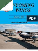 Wyoming Wings Magazine, January 2009