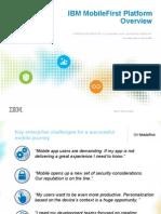 IBM MobileFirst Platform v7 Tech Overview
