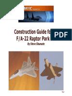 F22 FOAM construction guide