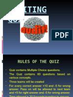 Audit Quiz