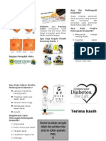 Retinopati Diabetik - Pamflet Penyuluhan Mata ( Denny 406147036)