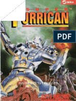 Super Turrican Manual SNES