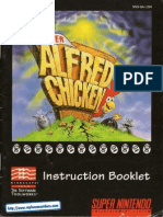 Super Alfred Chicken Manual SNES