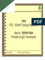 Principle of Light Transmission and Fiber Geometry