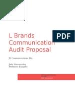 communication audit proposal- l brands
