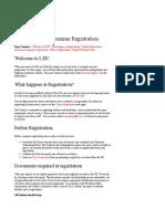 New Student Programme Registration - New Students - Programme R
