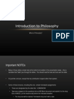 Introduction to Philosophy Logic
