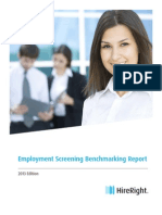 2013 HireRight Employment Benchmarking Report