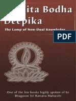 Sri Karapatra Swami - Advaita Bodha Deepika (114p)