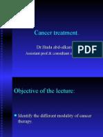 Cancer Treatment 1