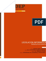 Legislación Informatica