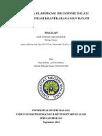 Sistematika Klasifikasi Makhluk Hidup Dalam Mengidentifikasi Keanekaragaman Hayati (Hana&Nabilah)(1)