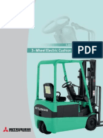 Specification - Electrical Forklift