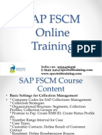 SAP FSCM Online Training UK,London,Edinburgh,Oxford,Cambridge