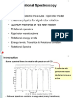 Rotaional Spectroscopy
