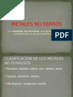 Metales No Ferros