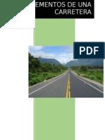 Elementos de Una Carretera