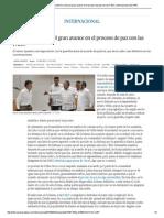 Proceso de Paz_ El Uribismo Critica El Gran Avance en El Proceso de Paz Con Las FARC _ Internacional _ EL PAÍS