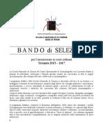 Bando Sede Roma 2015-17 CORRETTO2