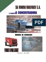 Manual Chancado Procesamiento Minerales
