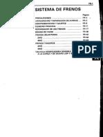 Sistema de Frenos Hilux hasta 1999
