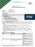 PROGRAMACION DE CTA 5° y unidades