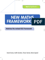 New Maths Frameworking Year 8 Pupil Book 3 8f469