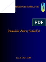 1Gestion Vial IIRSA