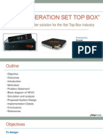 Set Top Box HEVC Presentation