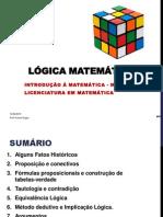 Lógica Matemática-AULA 01