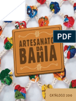 Artesanato Bahia Catálogo 2010
