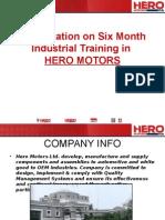 Six Mnth Trang Ppt HERO MOTOR