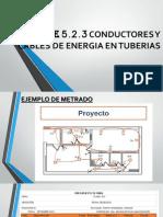 Oe.5.2.3 Conductores y Cables
