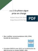 AVC à La Phase Aigue Serge Bracard (1)