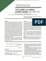 Salud publica y ciudad