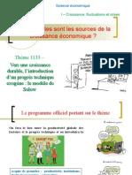 thème 1133- Vers une croissance durable  l'analyse de Solow.ppt