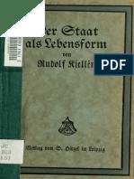 Der Staat als Lebensform (1917)