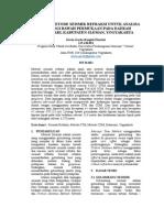 Aplikasi Metode Seismik Refraksi untuk Analisa Litologi Bawah Permukaan