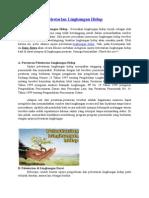 Pelestarian Lingkungan Hidup.doc