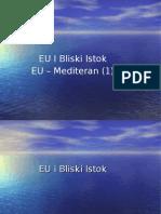 EU I Bliski Istok Mediteran 1