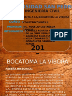 Bocatoma La Vibora