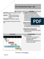 6 - Template - Project Status Report with Gantt Chart.doc