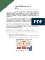 Usos de Sistemas de Información