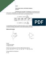 Transferencia de calor en aleta triangular