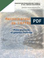 GT28R1F1 Puits Profonds Et Galeries Inclinées