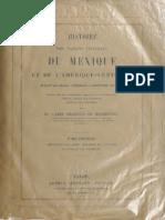 Charles Étienne Brasseur de Bourbourg - Histoire du Mexique et du Amerique-CEntrale Vol. 01