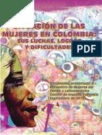 Situación de Las Mujeres en Colombia